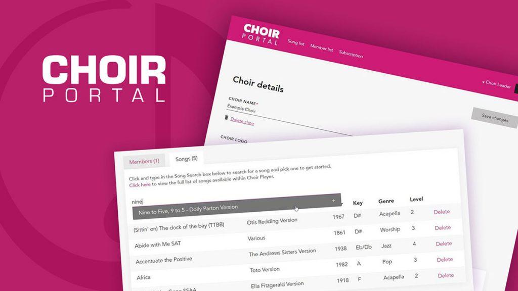 Choirplayer-subscription-portal